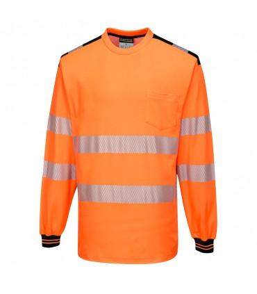 T185 - PW3 T-Shirt Haute Visibilité ML