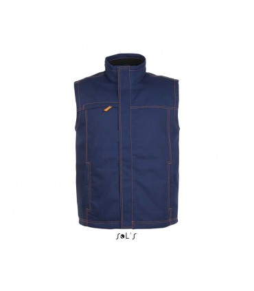 BODYWARMER UNICOLORE WORKWEAR HOMME WORKER PRO - 01568